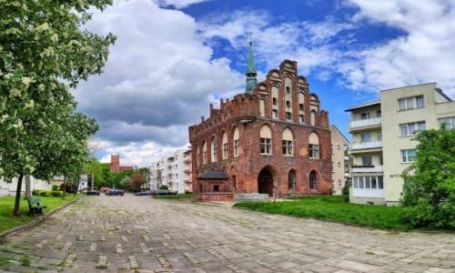 Zdjecie POLSKA / pomorskie / Malbork / Ratusz Staromiejski w Malborku