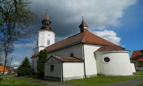 Zdjęcie POLSKA / woj.podlaskie. / pow.białostocki. / Supraśl - kościół św. Trójcy.