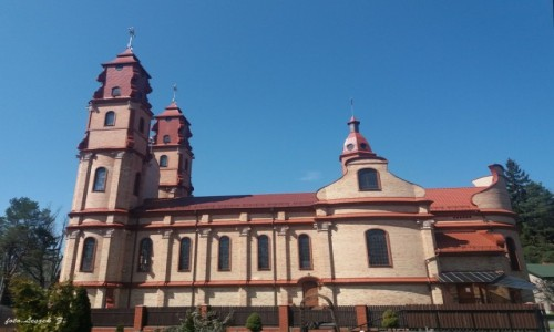 Zdjęcie POLSKA / woj.podlaskie. / pow. hajnowski. / Hajnówka - kościół św. Cyryla i Metodego i Matki Bożej Fatimskiej.