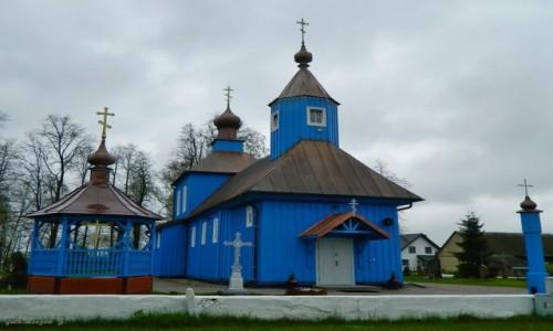 POLSKA / woj.podlaskie. / pow.bielski. / Ploski - Cerkiew Matki Bożej Iwierskiej.