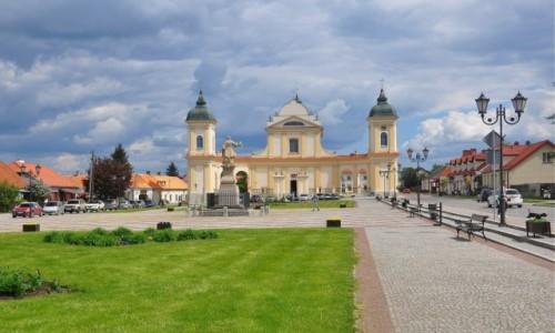 POLSKA / podlaskie / Tykocin / Kościół w Tykocinie