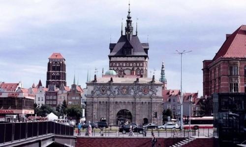 POLSKA / Pomorze / Gdańsk / Gdańsk. Brama Wyżynna.