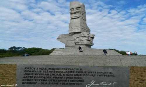 Zdjecie POLSKA / woj.pomorskie. / Westerplatte. / Westerplatte - Początek II wojny światowej.