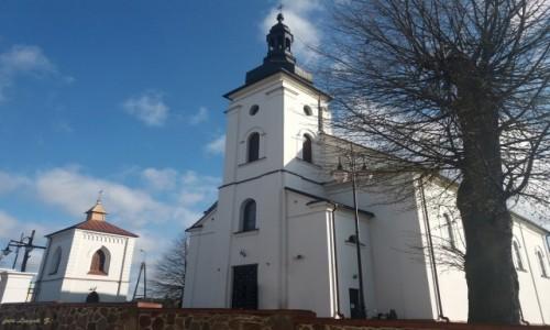 Zdjęcie POLSKA / woj.podlaskie. / pow.bielski. / Brańsk - kościół Wniebowzięcia Najświętszej Maryi Panny.