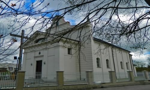 POLSKA / woj.podlaskie. / pow.bielski. / Brańsk - Bazylika Narodzenia NMP, św. Mikołaja i Trzech Króli.
