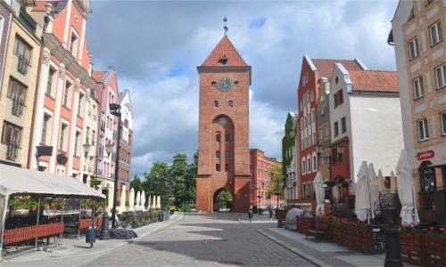 POLSKA / warmińsko-mazurskie / Elbląg / Brama Targowa, Elbląg