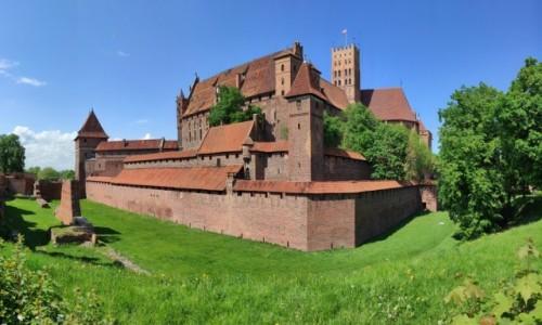 POLSKA / pomorskie / Malbork / Zamek w Malborku