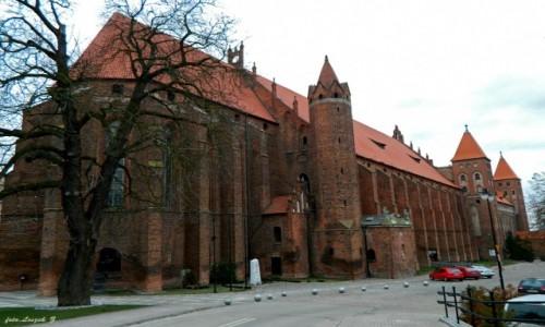 Zdjęcie POLSKA / woj.pomorskie. / pow.kwidzyński. / Kwidzyn - katedra i zamek.