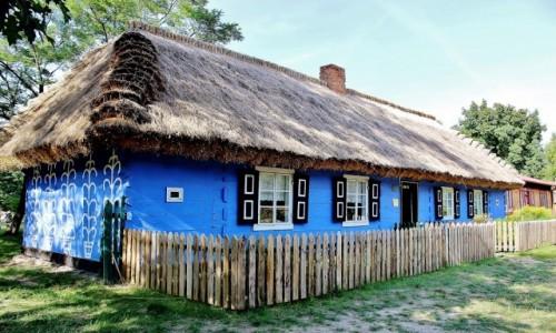 Zdjęcie POLSKA / województwo łódzkie / Maurzyce / Chata z XIX wieku
