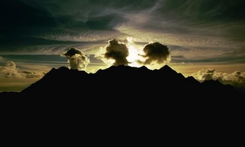 Zdjecie POLSKA / Małopolska / Tatry / Trzy wulkany w Tatrach