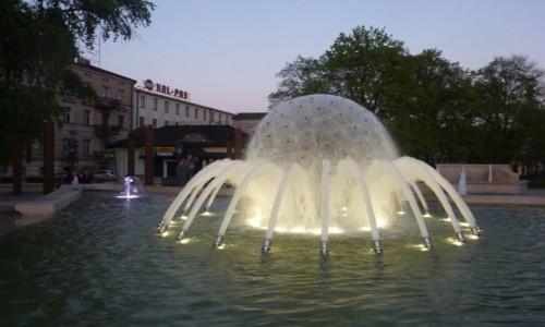 Zdjęcie POLSKA / Wielkopolska / Kalisz / Kalisz , fontanna Noce  i  Dnie