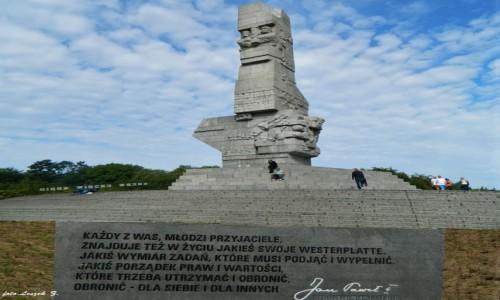 Zdjęcie POLSKA / woj.pomorskie. / Westerplatte. / Niezapominajmy..