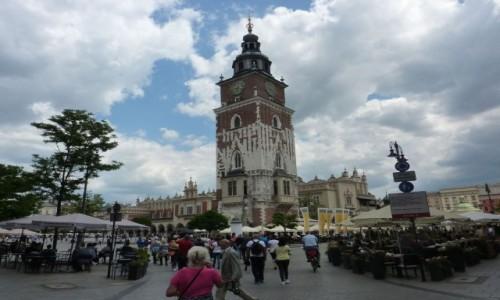 POLSKA / Małopolska / Kraków / Kraków , gdzie jest ratusz ?