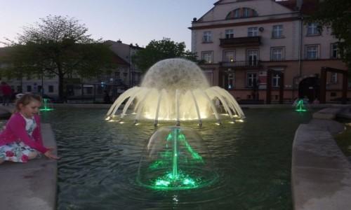 """Zdjęcie POLSKA / Wielkopolska / Kalisz / Kalisz  , fontanna  """" Noce i Dnie """"  ."""