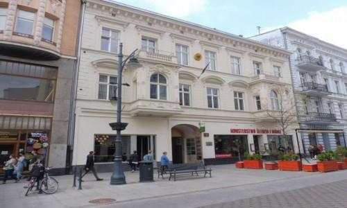 POLSKA / - / Łódź / Łódź ,  Piotrkowska 111 .