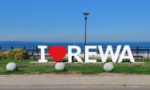 Zdjecie POLSKA / pomorskie / Rewa / Kocham Rewę