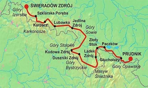 Zdjecie POLSKA / - / Sudety / Trasa GSS