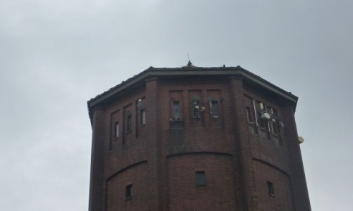 Zdjecie POLSKA / Wielkopolska / Kalisz / Kalisz  . Kolejowa  wieża  ciśnień .