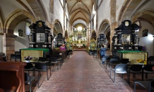 Zdjęcie POLSKA / Łódzkie / Sulejów / Sulejów, kościół opactwo cystersów