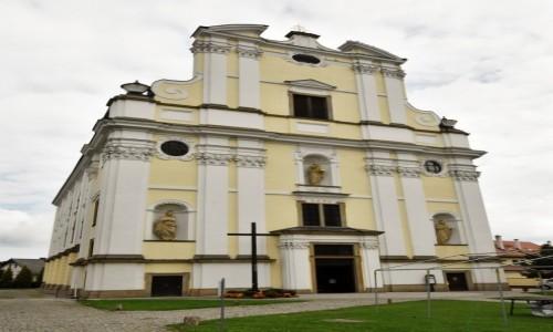 POLSKA / Dolny Śląsk / Krzeszów / Krzeszów, klasztor pocysterski, kościół św. Józefa