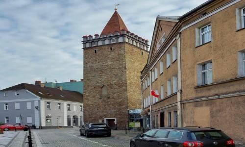 POLSKA / opolskie / Głuchołazy / Wieża z innej strony.
