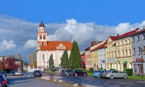 POLSKA / opolskie / Prószków / Rynek w Prószkowie