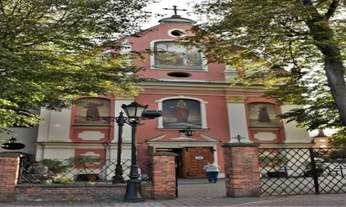 POLSKA / Kaszuby / Wejherowo / Wejherowo, kościół reformatów