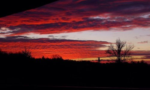 Zdjecie POLSKA / brak / z mojego okna / chmury