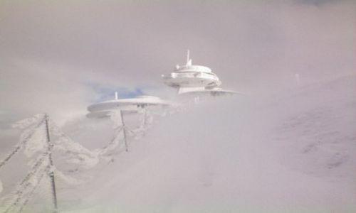 Zdjecie POLSKA / karkonosze / góra śnieżka / obserwatorium meteorologiczne na śnieżce