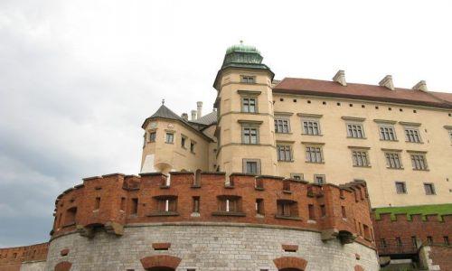 Zdjecie POLSKA / brak / Kraków / Wawel-Kurza Stopka i  wieża Zygmunta III