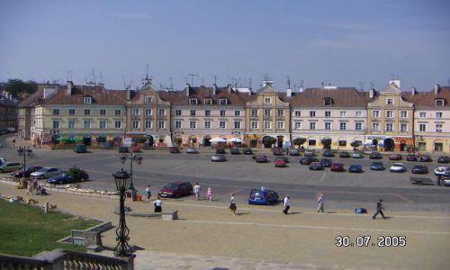 Zdjecie POLSKA / Lublin / podobno jedyny owalny rynek / POLSKIE KRAJOBRAZY