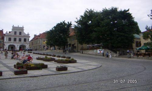 Zdjecie POLSKA / Sandomierz / rynek / POLSKIE KRAJOBRAZY