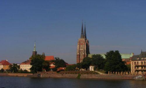 Zdjecie POLSKA / Wrocław / Ostrów Tumski / Ostrów Tumski