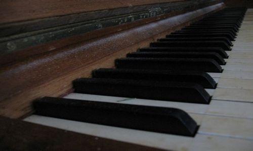 Zdjecie POLSKA / sląsk opolski / krapkowice / pianino