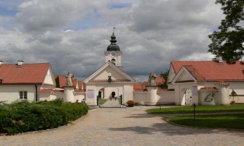Zdjecie POLSKA / POJEZIERZE SUWALSKIE / JEZIORO WIGRY / KLASZTOR KAMEDUŁÓW