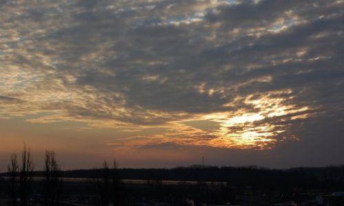 Zdjecie POLSKA / mazowsze / warszawa / wschód słońca