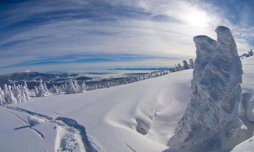 Zdjecie POLSKA / Góra Pilsko - Widok na Tatry / Korbielów / Weekendowe narty w Korbielowie