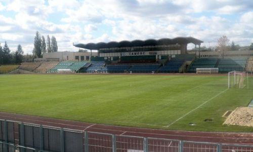 Zdjecie POLSKA / Lubelszczyzna / Zamość /  Zamość- Stadion
