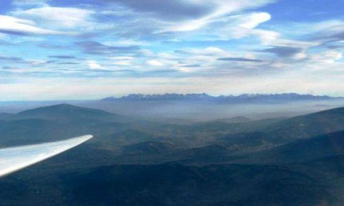 Zdjecie POLSKA / Beskidy / Beskid Żywiecki, wysokość 2 tys m AGL / podniebny landszafcik