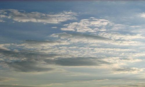 Zdjęcie POLSKA / brak / nad jeziorem / chmury