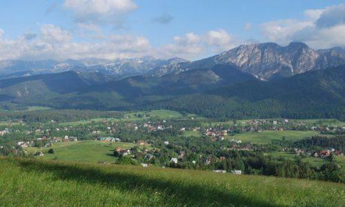 Zdjecie POLSKA / Tatry / Butorowy Wierch / Panorama ze Śpiącym Rycerzem