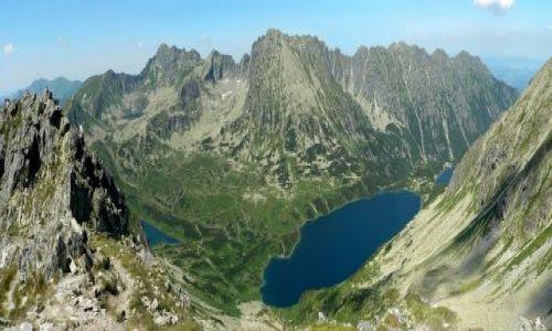 Zdjecie POLSKA / Tatry / panorama ze Szpiglasowego Wierchu / Dolina Pięciu Stawów