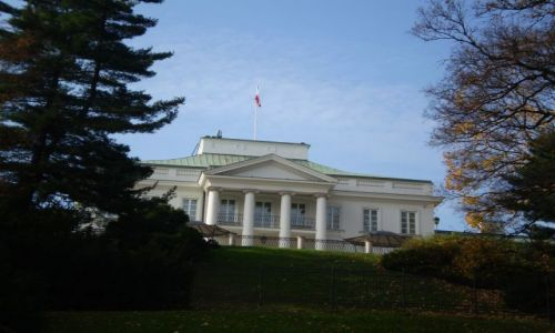Zdjecie POLSKA / mazowieckie / Warszawa / Belweder