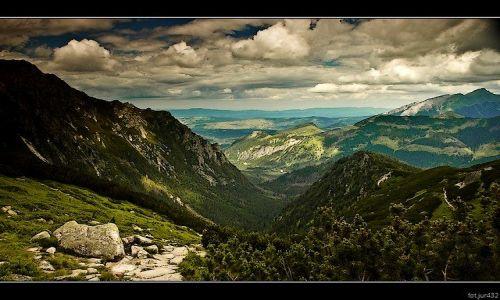 Zdjęcie POLSKA / Tatrzański Park Narodowy / Ogólnie jak w tytule całe TATRY prawie :) / TATRY