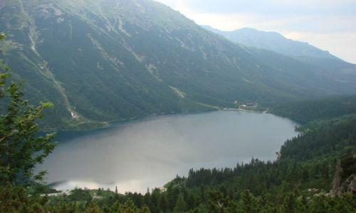 Zdjecie POLSKA / Tatry / Morskie Oko / w polskich górach