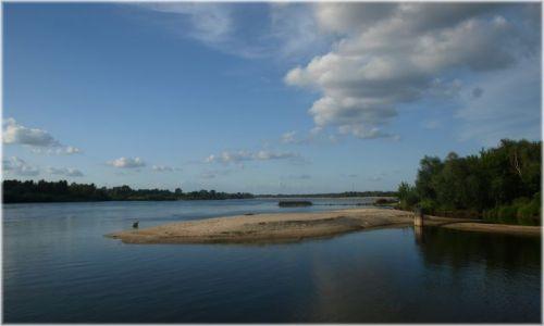 Zdjecie POLSKA / Mazowsze / Wisła w okolicy Karczewia / No i znalazłam dojazd do samej wody