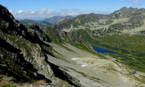 Zdjecie POLSKA / Tatry / Szpiglasowa Przełęcz / Widok na Dolinę Pięciu Stawów