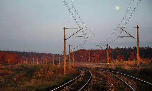 Zdjecie POLSKA / Miechów / Uniejów / o zmierzchu z ksieżycem w kadrze:)