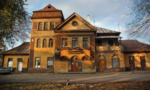 Zdjecie POLSKA / Miechów / Charsznica / przezytek - dworzec w Charsznicy - wycieczka sentymentalna