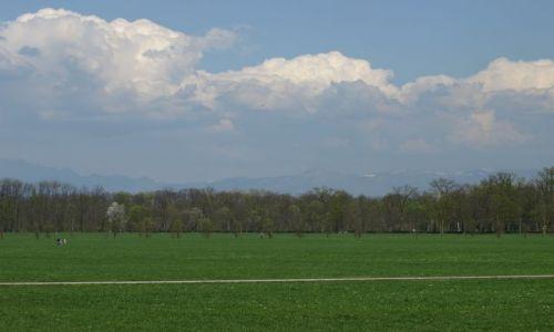 Zdjecie POLSKA / Mediolan / park jak widać... / rower jest i ścieżka rowerowa też